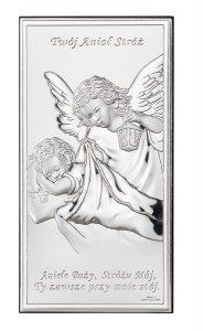 Obrazek Aniołek z latarenką Twój Anioł Stróz z Modlitwą