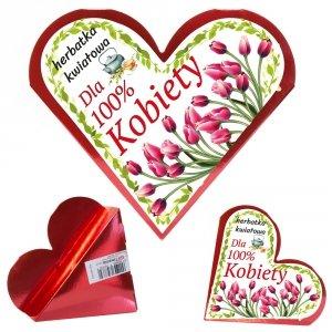 Serce herbatka kwiatowa 100 Kobieta