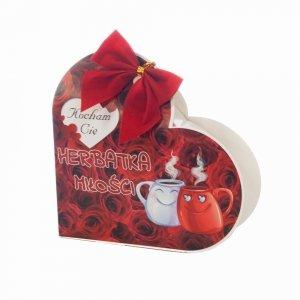 Herbatka Miłości w kształcie serca 25g