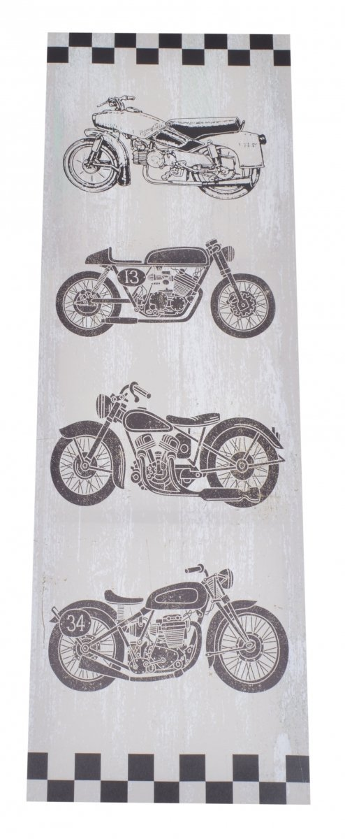 OBRAZ MOTOCYKLE 30X90CM