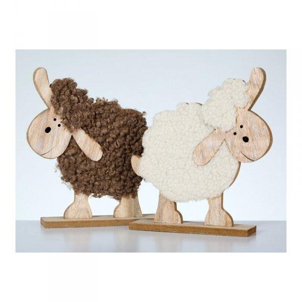 Owca ozdobna obleczona pluszem! 2 wzory!