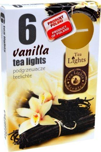 """PODGRZEWACZ 6 SZTUK TEA LIGHT """"Vanilla"""""""