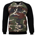 TW SWEATSHIRT 015 CAMO BLACK