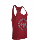Trec Wear STRINGER 05 TRAIN HARD MAROON MELANGE