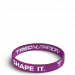 Opaska silikonowa Shape It - WRISTBAND 016
